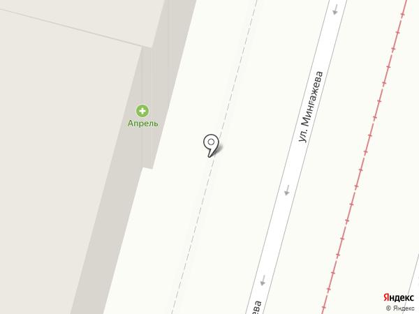 Защита на карте Уфы