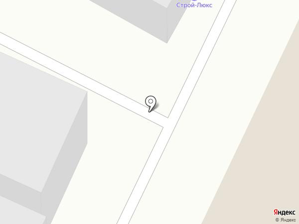 Аквамонолит на карте Уфы