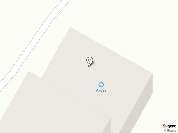 Банкомат, Банк Уралсиб, ПАО на карте Стерлитамака