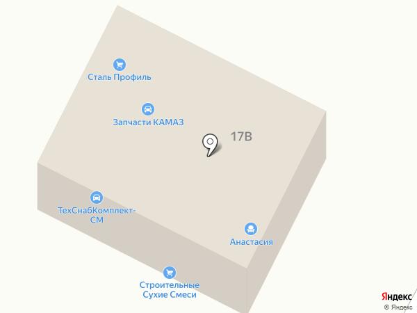 ТСК-СМ на карте Стерлитамака