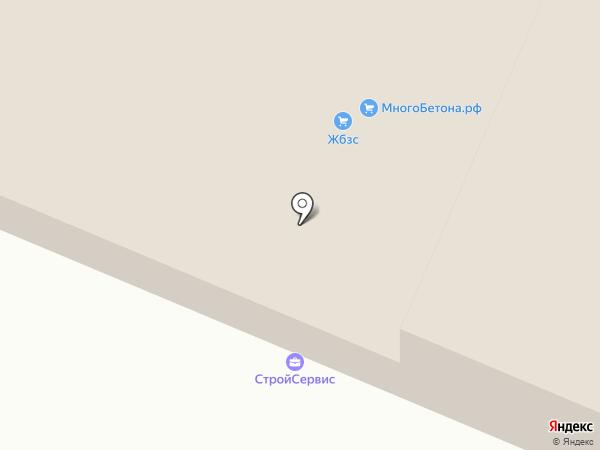 Мега-бетон на карте Стерлитамака