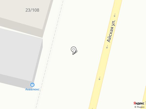 АкваЛюкс на карте Уфы