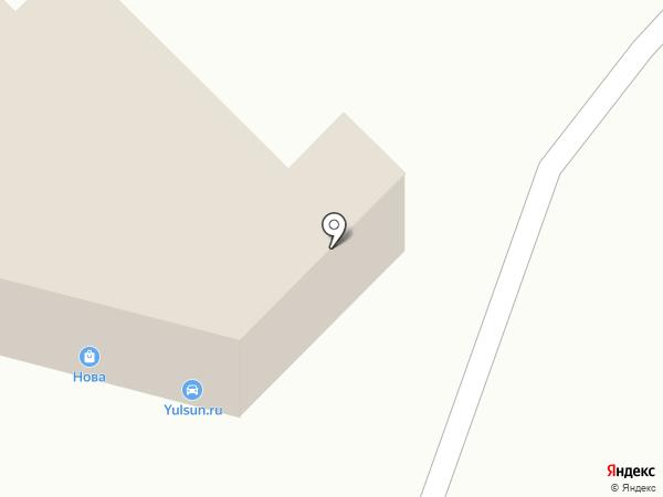 Данон Трейд на карте Уфы