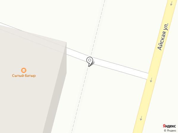 Бирск на карте Уфы