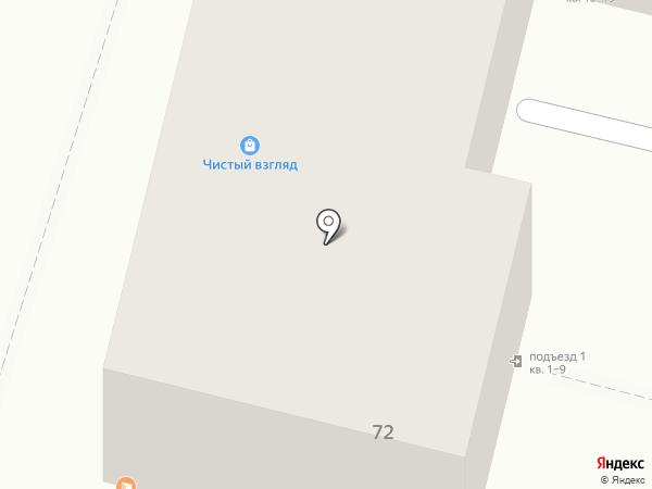 Булочная №1 на карте Уфы