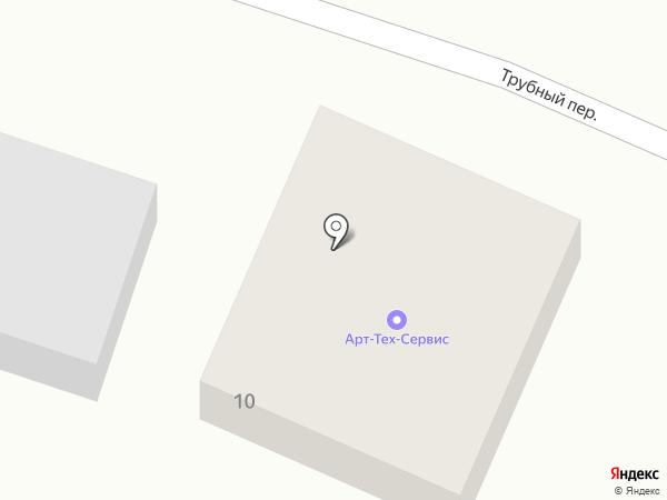 Арттехсервис на карте Стерлитамака