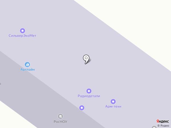 Челябинский государственный университет на карте Уфы