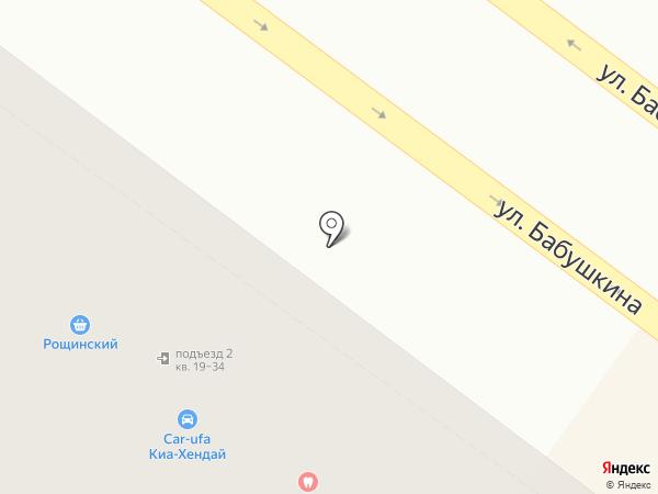 ТестоПросто на карте Уфы