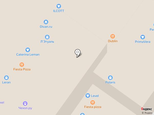 Зеленая точка Уфа на карте Уфы
