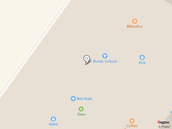 Стильный каблучок на карте Уфы