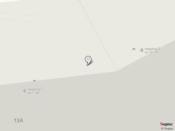 ТЕМП на карте Уфы