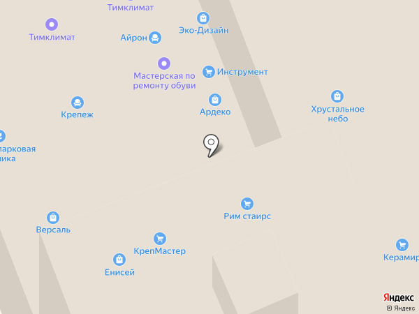 Магазин штор на карте Уфы