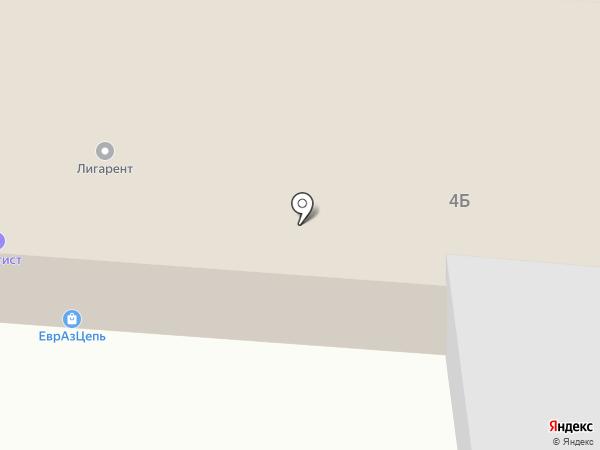 Альба-Цепь на карте Уфы