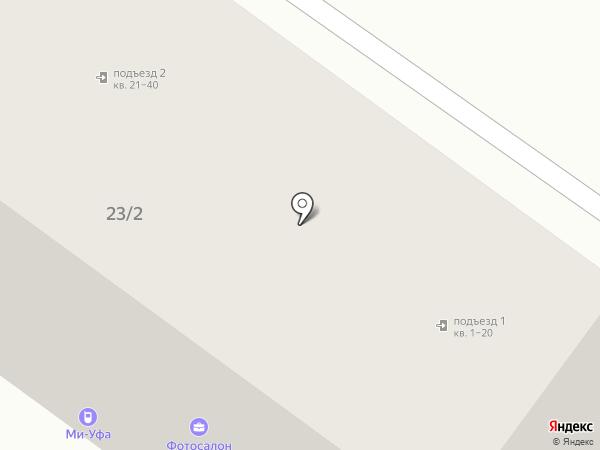 Mi-Ufa на карте Уфы