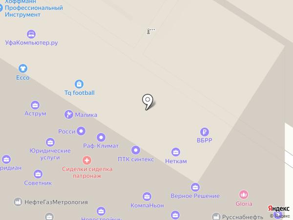 Ассоциация патронажных работников на карте Уфы