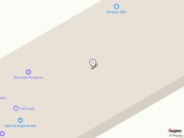 Проектсервис на карте Уфы