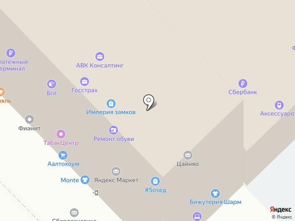 СтройИнвестГрупп на карте Уфы