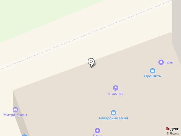 ПИВ ПАФ на карте Уфы