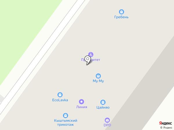 Приоритет Авто, ЧОУ на карте Уфы