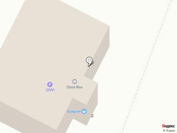 Байрам на карте Алексеевки