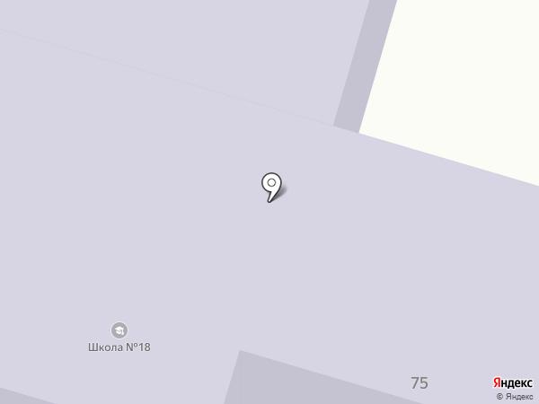 Средняя общеобразовательная школа №18 на карте Уфы