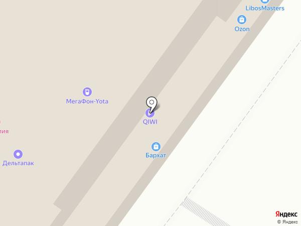 Стиль Man на карте Уфы
