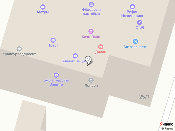 ДенАрт-РВД на карте Уфы