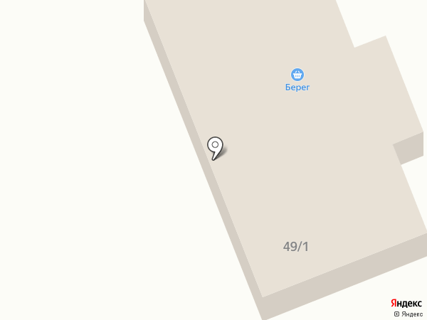 Берег на карте Ишимбая