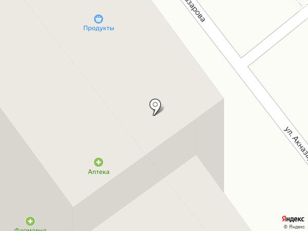 Многопрофильный медицинский центр на карте Уфы