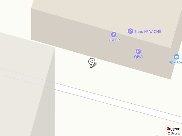 Пышка на карте Уфы
