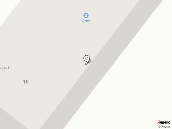 Ромашки на карте Уфы