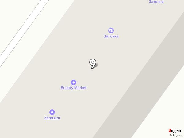 Башэл на карте Уфы