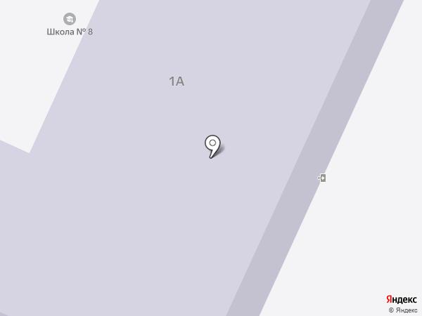 Средняя общеобразовательная школа №8 на карте Стерлитамака