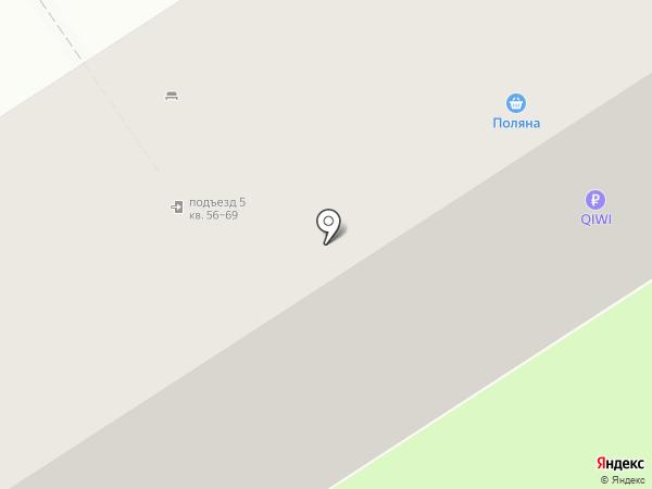 Дружный на карте Перми