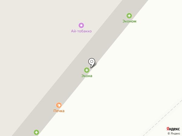 Печка на карте Уфы