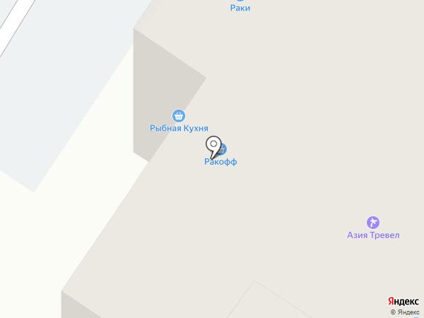Амега-Уфа на карте Уфы