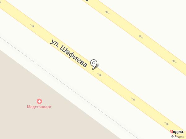 МЕДСТАНДАРТ на карте Уфы