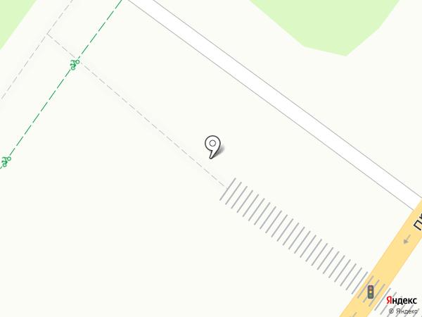 Уфа-печать на карте Уфы