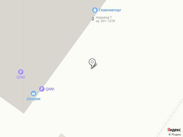 Дворик на карте Уфы