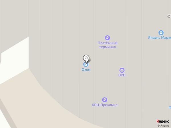 Стильные Лапки на карте Перми