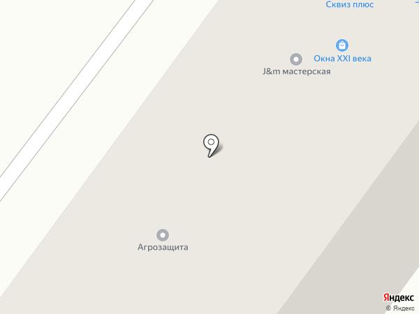 Окна XXI века на карте Уфы