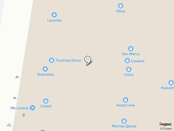 Паркет Уфа на карте Уфы