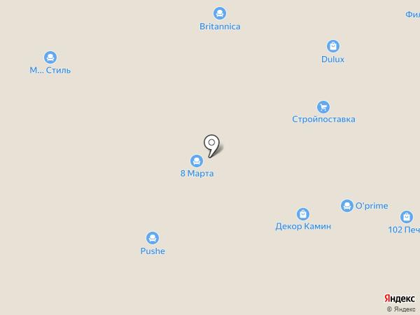 102 Печи на карте Уфы