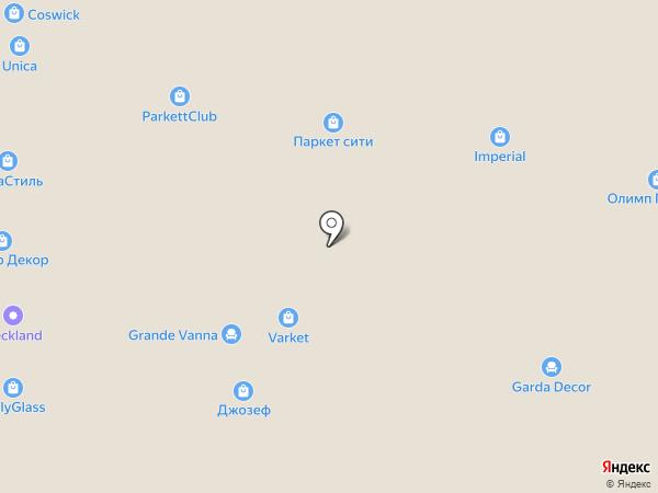 Олимп Паркета на карте Уфы