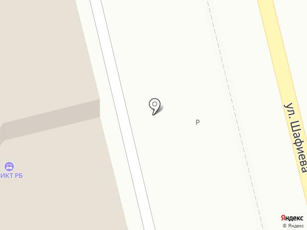 Центр информационно-коммуникационных технологий Республики Башкортостан, ГУП на карте Уфы
