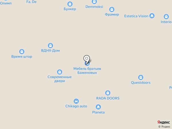 Оптим на карте Уфы