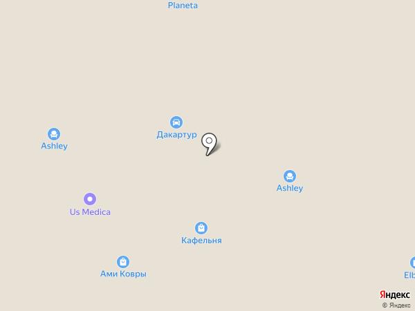 Уютный дом на карте Уфы