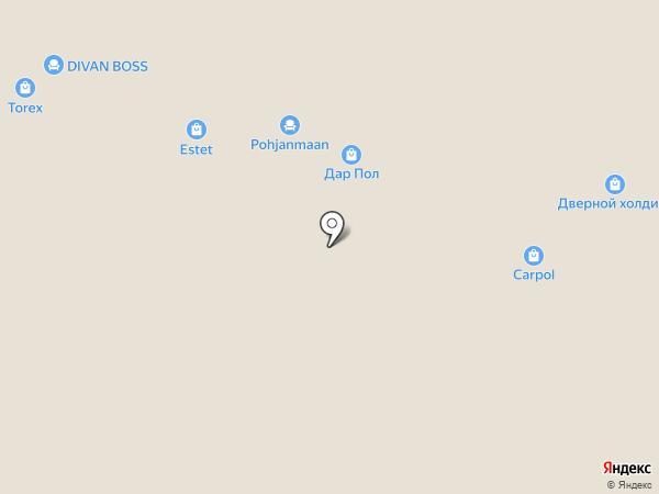Современные двери на карте Уфы