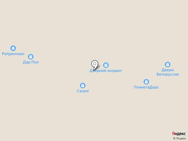 Дверник на карте Уфы