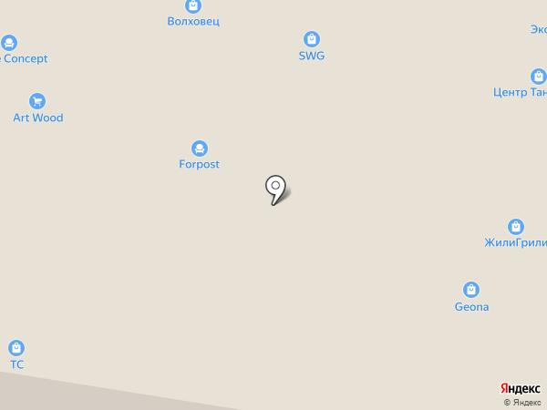 Уфамебель на карте Уфы